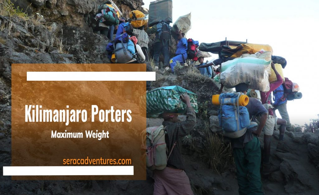 Maximum Weight For Kilimanjaro Porters: